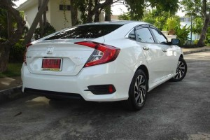 租车 NEW Honda Civic (16-17) - 照片 4